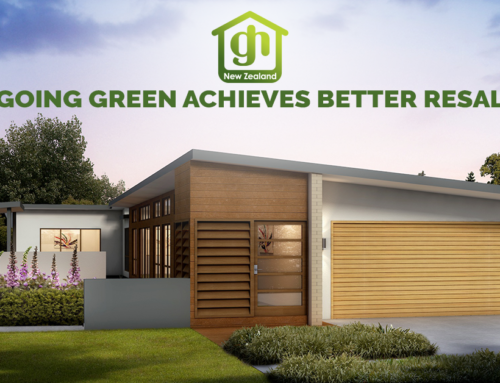 Going Green Achieves Better Resale on Your New Home