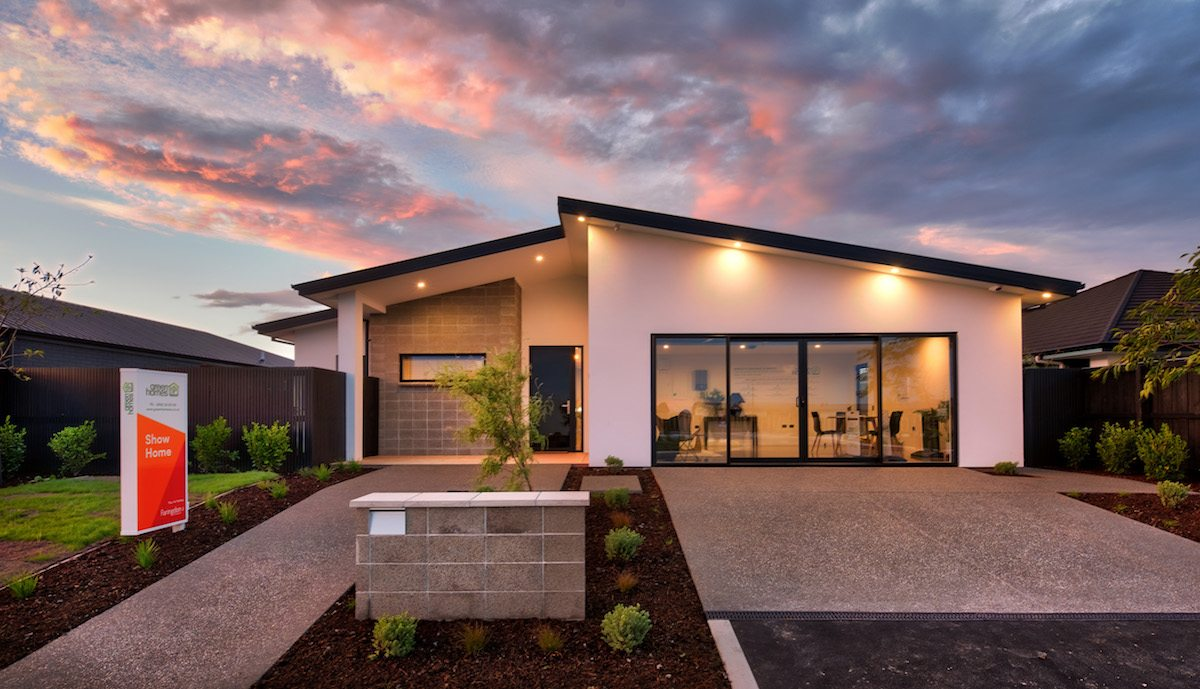 Green homes new zealand open eco friendly showhome green for What is a green home