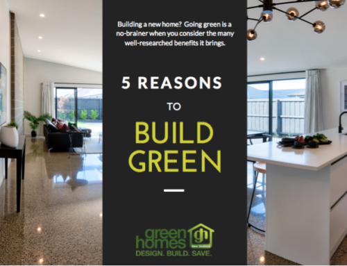 5 Reasons to Build Green