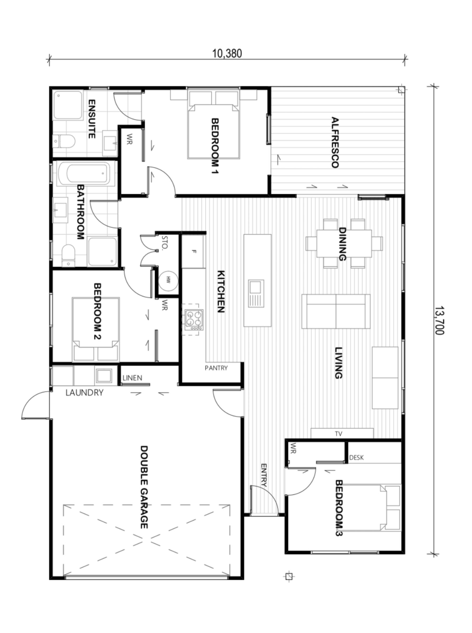 Snowy River floor plan