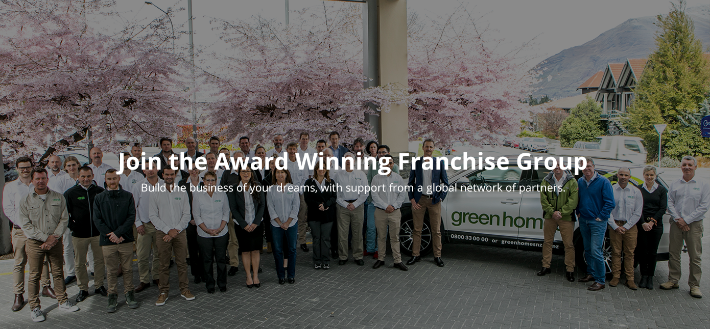 Join the Award Winning Franchise Group